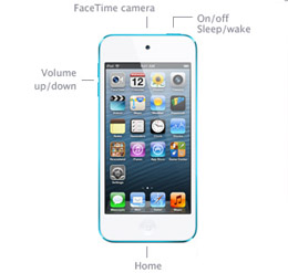 Learn simple control iPod Touch