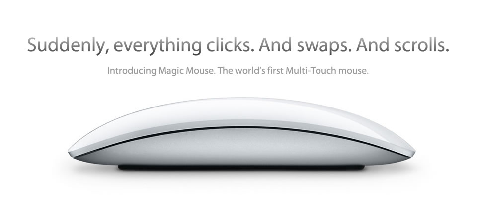 Apple Magic Mouse.